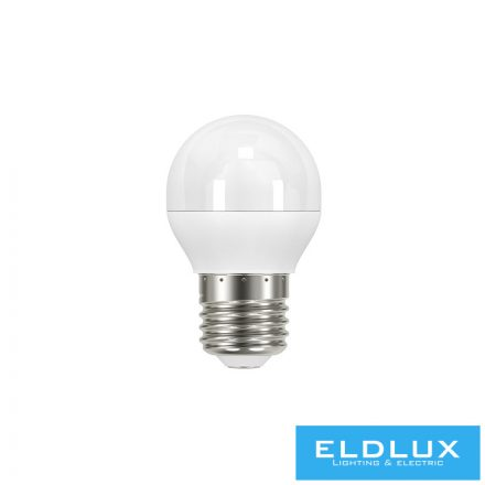 LED izzó G45 E27 6W 3000K