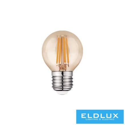 Filamentes LED izzó G45 E27 6W 2200K