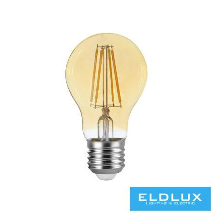 Filamentes LED izzó A60 E27 6W 2200K