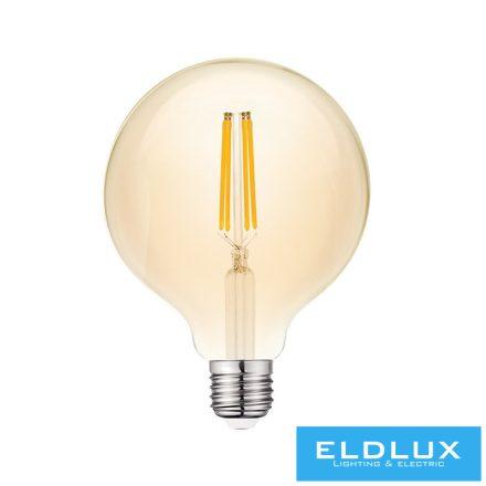 Filamentes LED izzó G95 E27 8W 2200K
