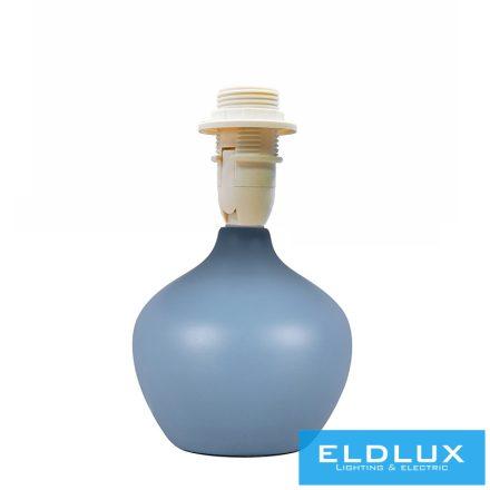 Kék kerámia asztali lámpatest E14
