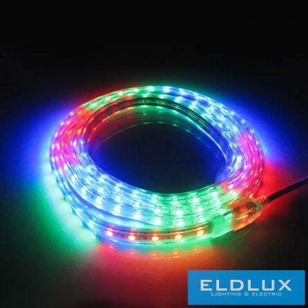 RGB LED Szalag 230v 10mm 5050-60D IP65
