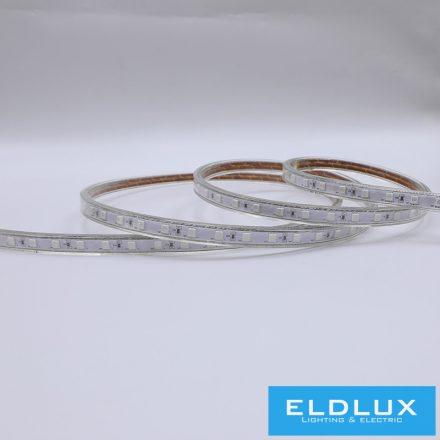 LED Szalag 230V 8mm 5050-60D Piros IP65