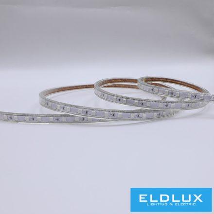 LED Szalag 230V 8mm 5050-60D Zöld IP65