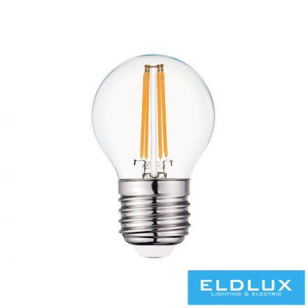 Filamentes LED izzó G45 E27 4W 3000K