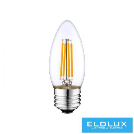Filamentes LED izzó C37 E27 4W 3000K