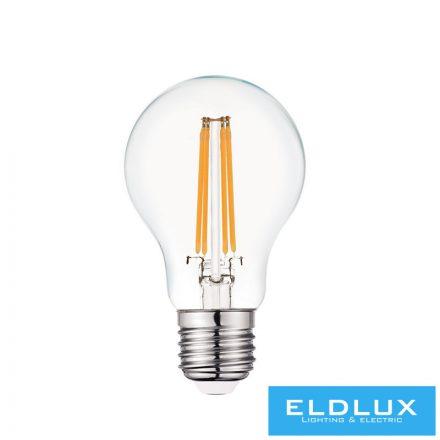 Filamentes LED izzó A60 E27 6W 3000K