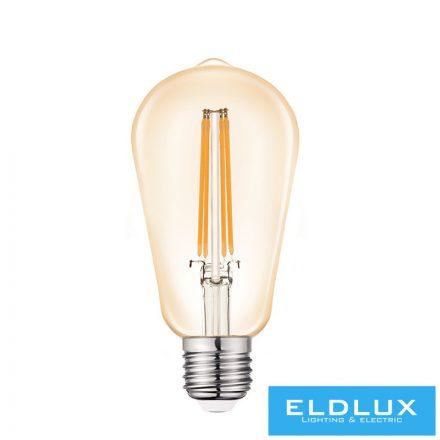 Filamentes LED izzó ST64 E27 4W 2200K