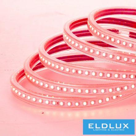 LED Szalag 230V 12mm 2835-180D Piros IP65