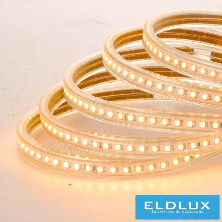 Flexibilis CCT LED Szalag 230v 10mm 2835-120D IP65