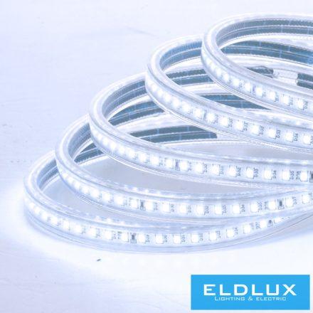 Flexibilis LED Szalag 230v 10mm 2835-120D 6500k+kék IP65