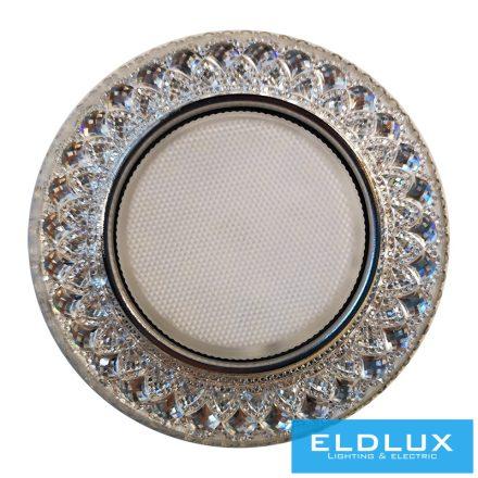 LUXOR Süllyesztett Lámpatest LED 5W CW + GX53 Króm