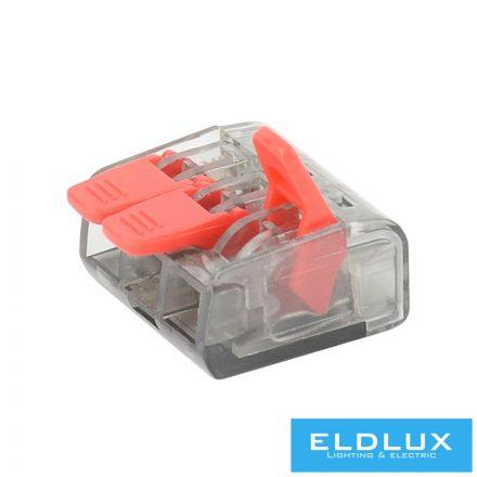 3-Pólusú nyítható kábelösszekötő 100db/doboz