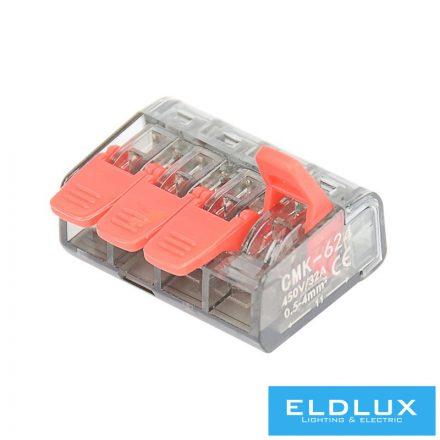 4-Pólusú nyítható kábelösszekötő 50db/doboz