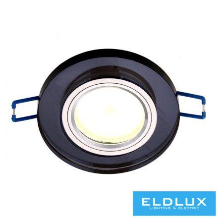 MIRROR Süllyesztett lámpatest GU10 Fekete