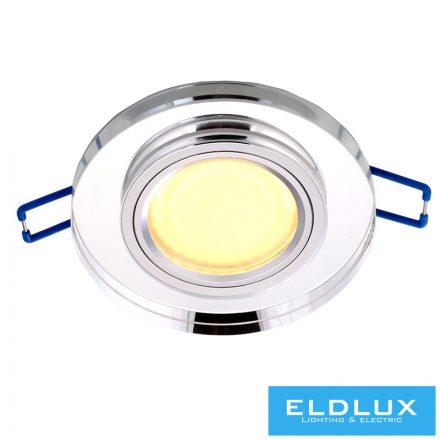 TEKLA Süllyesztett Lámpatest LED 3W NW GU10 Króm