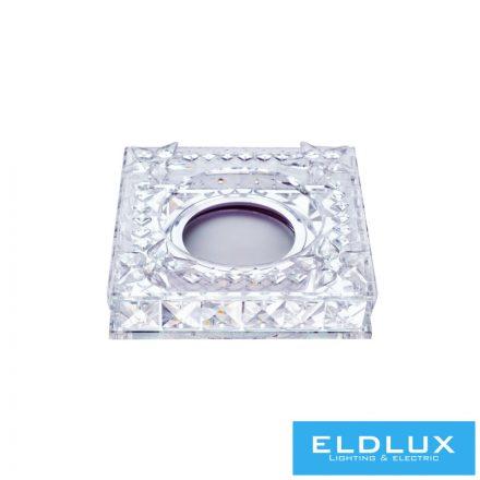 ANUBIS Süllyesztett lámpatest LED 3W CW + GU10 Króm