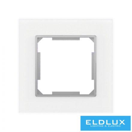 ELDIRA Egyes üveg keret Fehér
