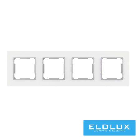 ELDIRA Négyes üveg keret Fehér