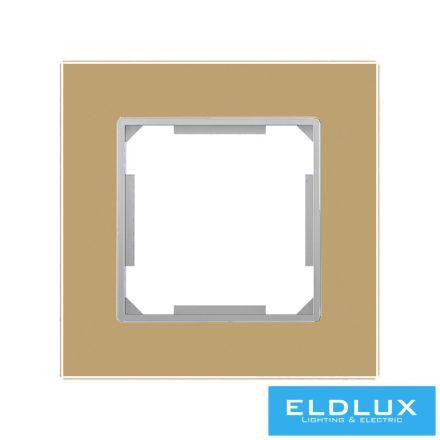 ELDIRA Egyes üveg keret Arany