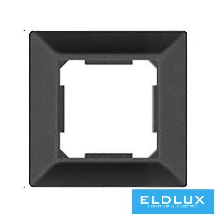 ELDGROUND Egyes műanyag keret Fekete