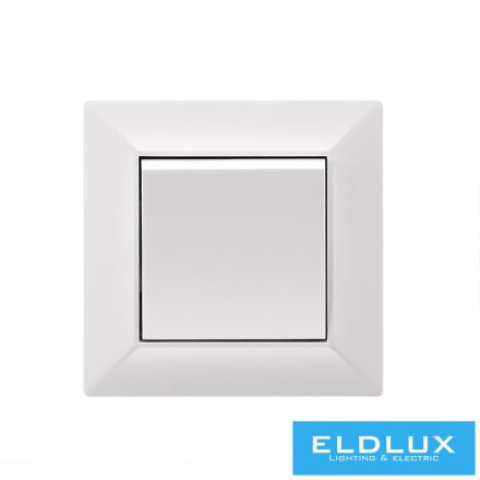 ELDGROUND Váltókapcsoló (106) Fehér Rugós
