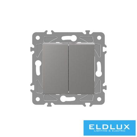 ELDGROUND Csillár kapcsoló (105) Ezüst Rugós