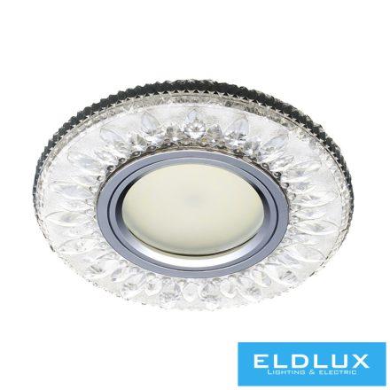 LUXOR Süllyesztett Lámpatest LED 3W NW GU10 Króm