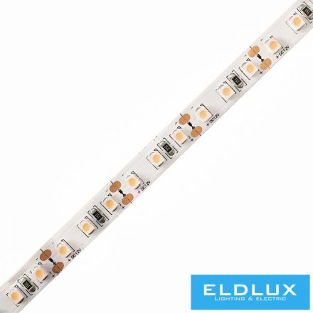 12V-os LED szalag 3528-120D 9.6W/m 3000K IP20 5m/csomag