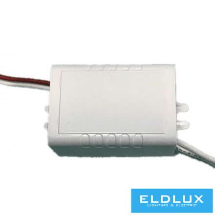 12V-os Műanyagházas tápegység 6W 0.5A IP20 2DB/doboz