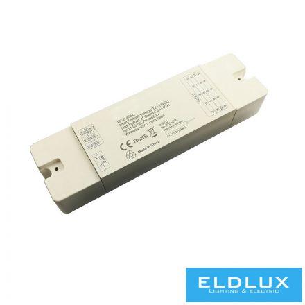 12V/24V-os CCT/RGB/RGBW LED Szalag vezérlő 2.4Ghz 4×6A IP20