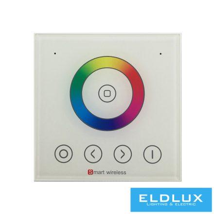 12V/24V-os RGB LED Szalag vezérlőhez(PS4220) fali táviránytó AC:90-265v 2.4Ghz 1Zonás IP20