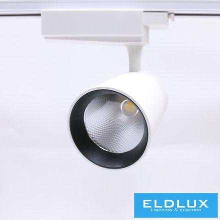 Egyfázissínre Szerelhető LED lámpa WH 35W CW