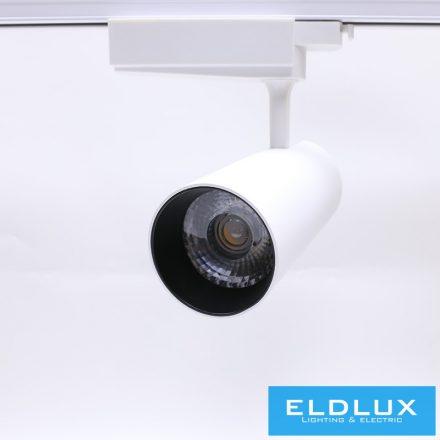 Egyfázissínre Szerelhető LED lámpa WH 30W WW