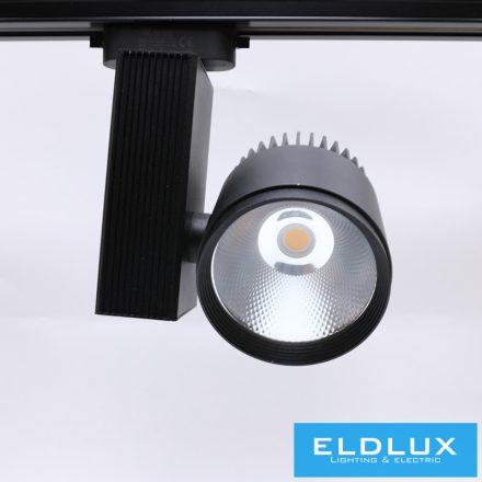 Egyfázissínre Szerelhető LED lámpa BL 30W NW