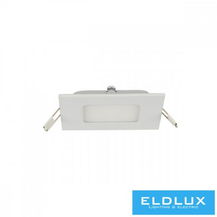 Szögletes Süllyesztett LED Panel 6W 420lm 3000K