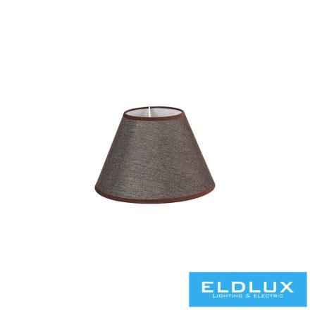 V-barna len lámpaernyő A típus